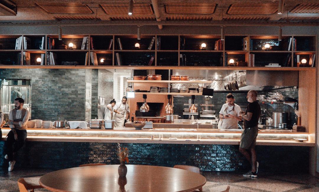 Restaurant enhjørninger